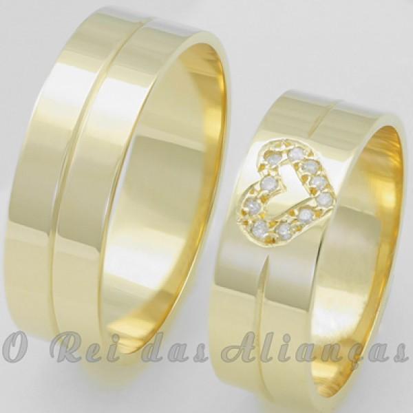 Alianças de Casamento Sonho - O Rei das Alianças   Catálogo de Alianças 95c61559c1